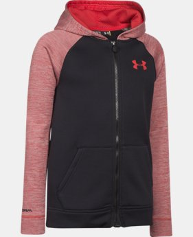 New Arrival  Boys' UA Storm Armour® Fleece MagZip Hoodie LIMITED TIME: FREE SHIPPING 1 Color $56.99