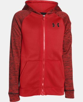 Boys' UA Storm Armour® Fleece MagZip Hoodie  1 Color $56.99