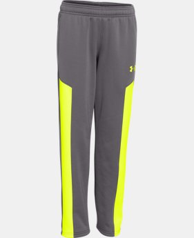Boys' UA Storm Armour® Fleece Pants LIMITED TIME: FREE U.S. SHIPPING 1 Color $26.99 to $33.99
