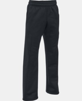 Boys' UA Storm Armour Fleece® Big Logo Pants  1 Color $33.99