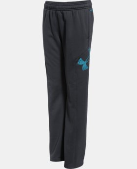 Boys' UA Storm Armour® Fleece Big Logo Pants  2 Colors $26.99 to $33.99