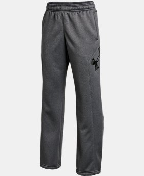 Boys' UA Storm Armour Fleece® Big Logo Pants  1 Color $26.99 to $33.99
