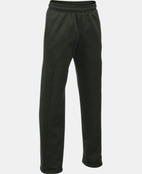 Best Seller Boys' UA Storm Armour® Fleece Big Logo Pants   $44.99