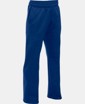 Best Seller Boys' UA Storm Armour® Fleece Big Logo Pants  1 Color $44.99