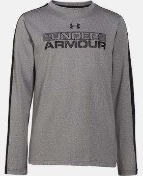 Boys' UA ColdGear® Infrared Long Sleeve T-Shirt