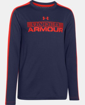 Boys' UA ColdGear® Infrared Long Sleeve T-Shirt LIMITED TIME: FREE U.S. SHIPPING 1 Color $23.99 to $29.99