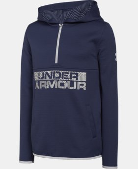 Boys' UA ColdGear® Infrared Fleece Hoodie  1 Color $35.99