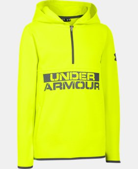 Boys' UA ColdGear® Infrared Fleece Hoodie   $35.99