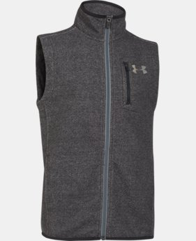 Boys' UA ColdGear® Infrared Performance Fleece Vest   $42.74