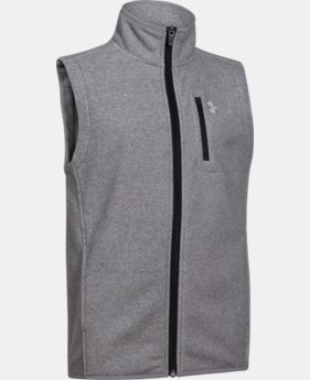 Boys' UA ColdGear® Infrared Performance Fleece Vest LIMITED TIME: FREE SHIPPING 1 Color $74.99
