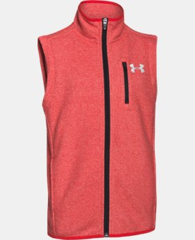 Boys' UA ColdGear® Infrared Performance Fleece Vest LIMITED TIME: FREE U.S. SHIPPING 1 Color $36.74