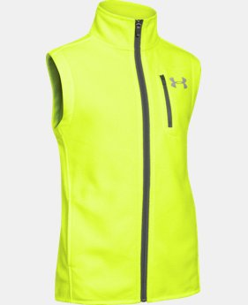 Boys' UA ColdGear® Infrared Performance Fleece Vest  4 Colors $38.99 to $48.99