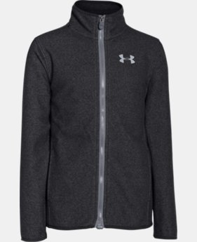 Boys' UA ColdGear® Infrared Performance Fleece Jacket LIMITED TIME: FREE U.S. SHIPPING  $47.99