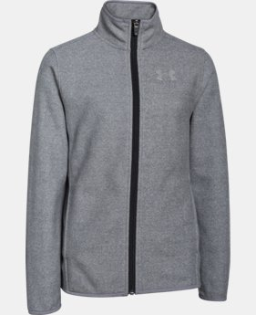 Boys' UA ColdGear® Infrared Performance Fleece Jacket LIMITED TIME: FREE SHIPPING  $50.99 to $67.99