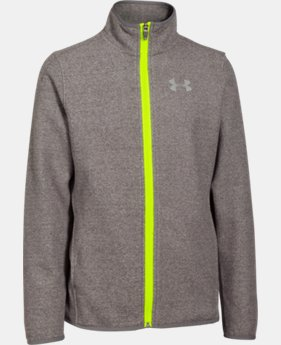 Boys' UA ColdGear® Infrared Performance Fleece Jacket LIMITED TIME: FREE SHIPPING 2 Colors $50.99