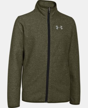 Boys' UA ColdGear® Infrared Performance Fleece Jacket LIMITED TIME: FREE SHIPPING 1 Color $50.99