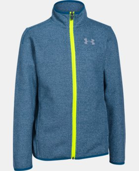 Boys' UA ColdGear® Infrared Performance Fleece Jacket LIMITED TIME: FREE SHIPPING 1 Color $50.99 to $67.99