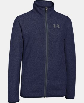 Boys' UA ColdGear® Infrared Performance Fleece Jacket  1 Color $47.99 to $59.99