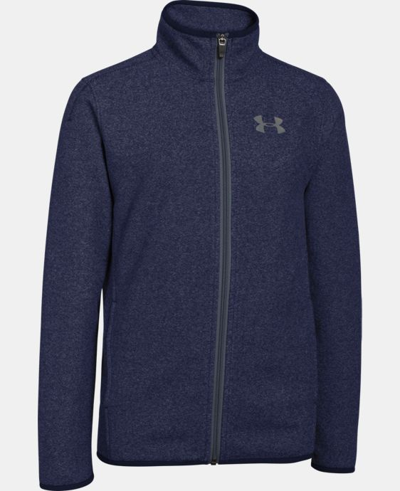 Boys' UA ColdGear® Infrared Performance Fleece Jacket LIMITED TIME: FREE SHIPPING 1 Color $53.99