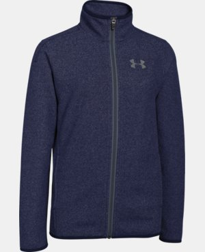 Boys' UA ColdGear® Infrared Performance Fleece Jacket  1 Color $44.99