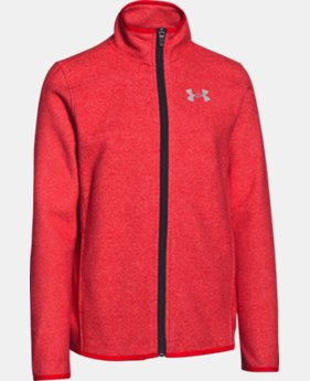 Boys' UA ColdGear® Infrared Performance Fleece Jacket   $40.49 to $50.99