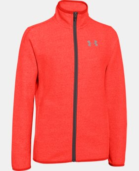 Boys' UA ColdGear® Infrared Performance Fleece Jacket  1 Color $53.99 to $67.99