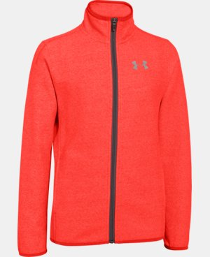 Boys' UA ColdGear® Infrared Performance Fleece Jacket LIMITED TIME: FREE U.S. SHIPPING 1 Color $47.99 to $59.99