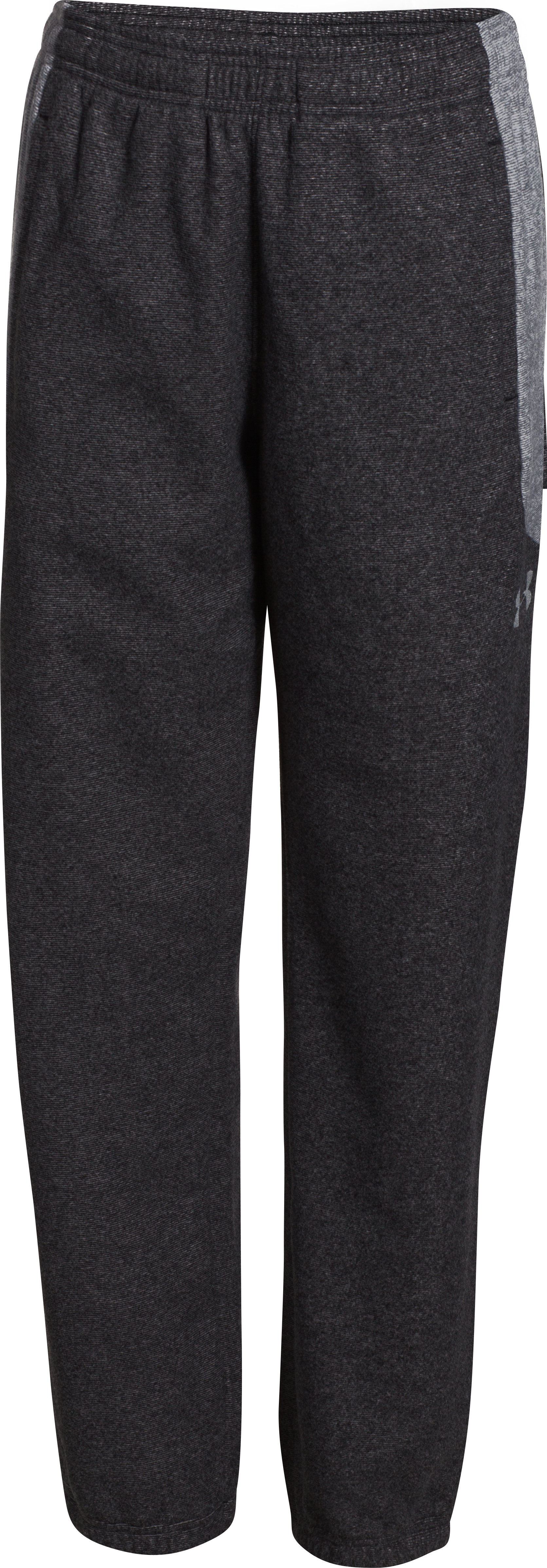 Boys' UA ColdGear® Infrared Performance Fleece Pants, Black , undefined
