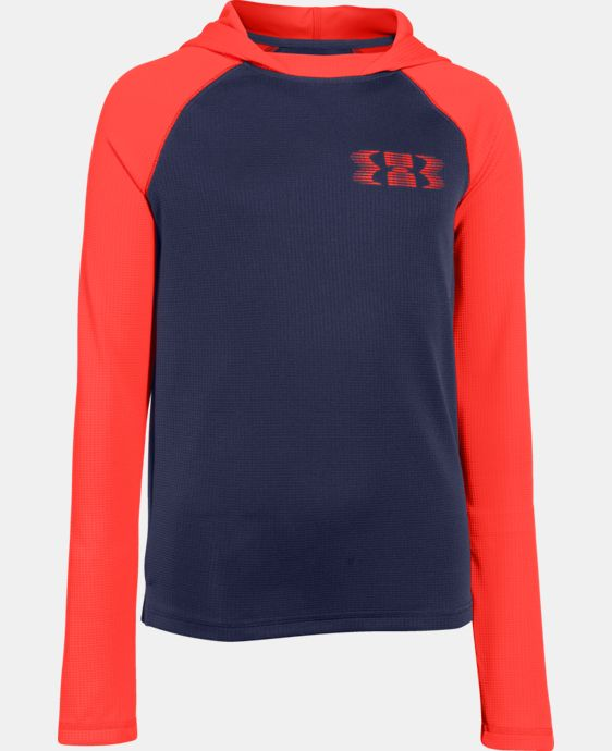 Boys' UA Waffle Thermal Hoodie LIMITED TIME: FREE U.S. SHIPPING 1 Color $20.99 to $26.99