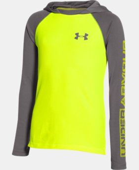 Boys' UA Waffle Thermal Hoodie LIMITED TIME: FREE U.S. SHIPPING  $20.99 to $26.99