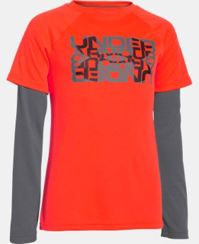Boys' Waffle 2-in-1 T-Shirt  1 Color $20.99