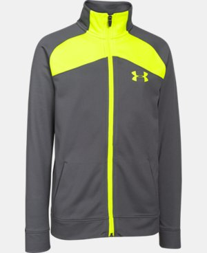 Boys' UA Brawler Warm-Up Jacket  1 Color $33.99