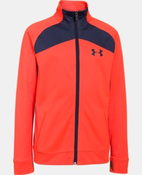 Boys' UA Brawler Warm-Up Jacket  1 Color $29.99