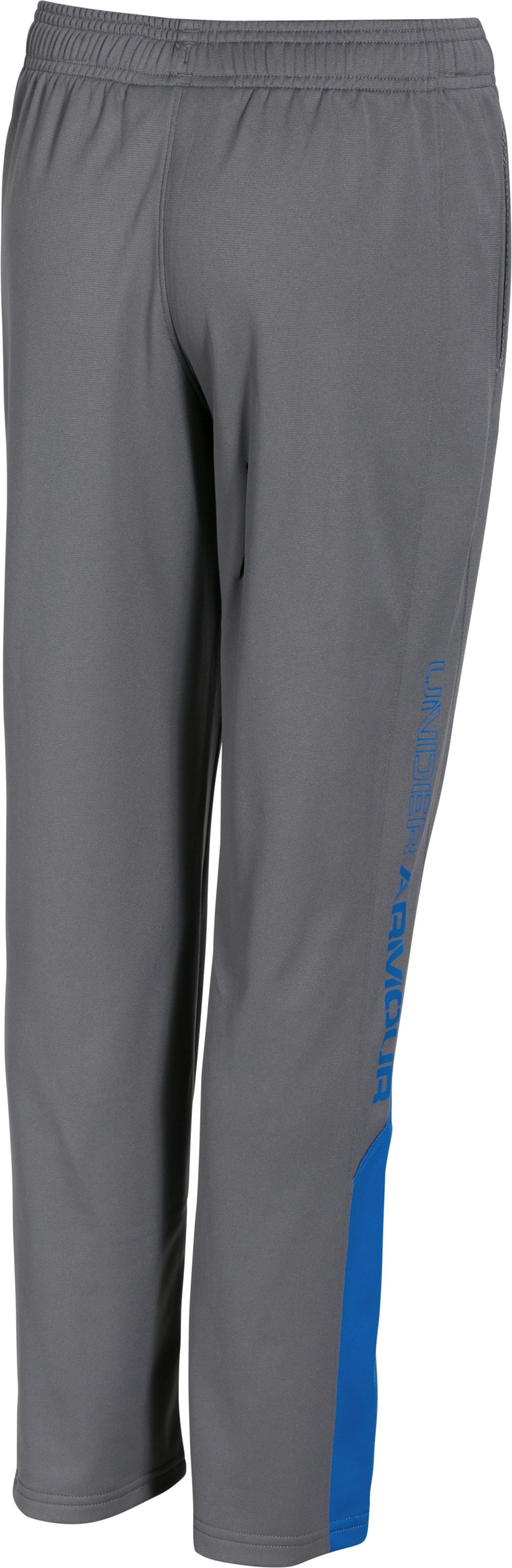 Boys' UA Brawler Pants, Graphite, undefined