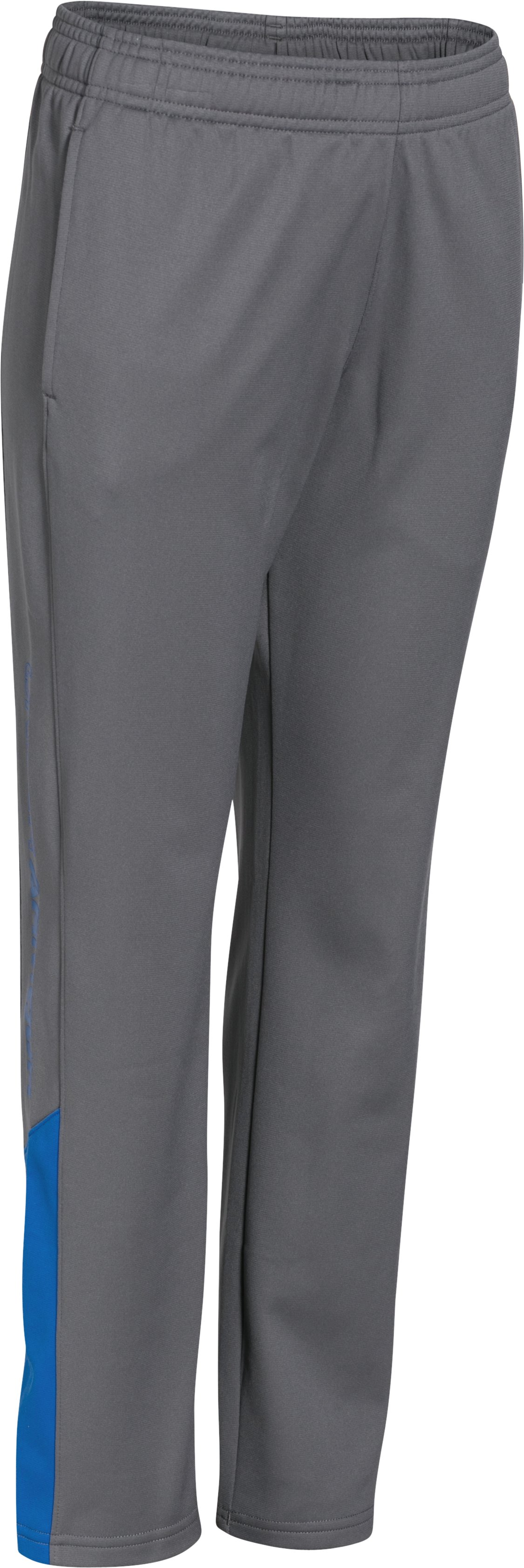 Boys' UA Brawler Pants, Graphite