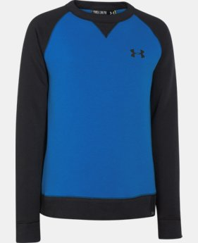 Boys' UA Rival Fleece Crew   $23.99