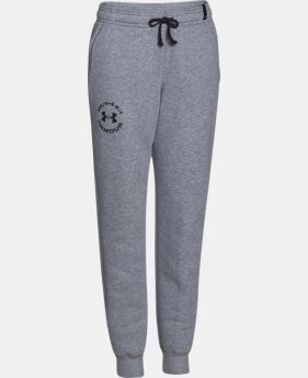 Boys' UA Rival Fleece Jogger Pants LIMITED TIME: FREE U.S. SHIPPING 2 Colors $29.99