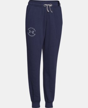 Boys' UA Rival Fleece Jogger Pants LIMITED TIME: FREE U.S. SHIPPING 1 Color $29.99