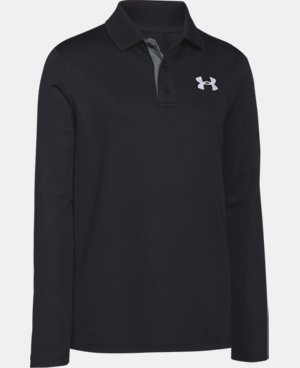 Boys' UA Match Play Long Sleeve Polo  4 Colors $39.99