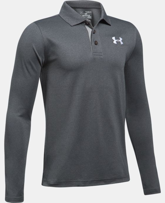New Arrival  Boys' UA Match Play Long Sleeve Polo  1 Color $44.99