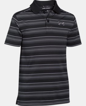 Boys' UA Tempo Striped Polo  2 Colors $23.99 to $29.99
