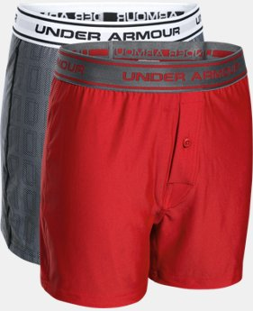 Boys' UA Original Series Boxer Shorts 2-Pack  1 Color $18.99