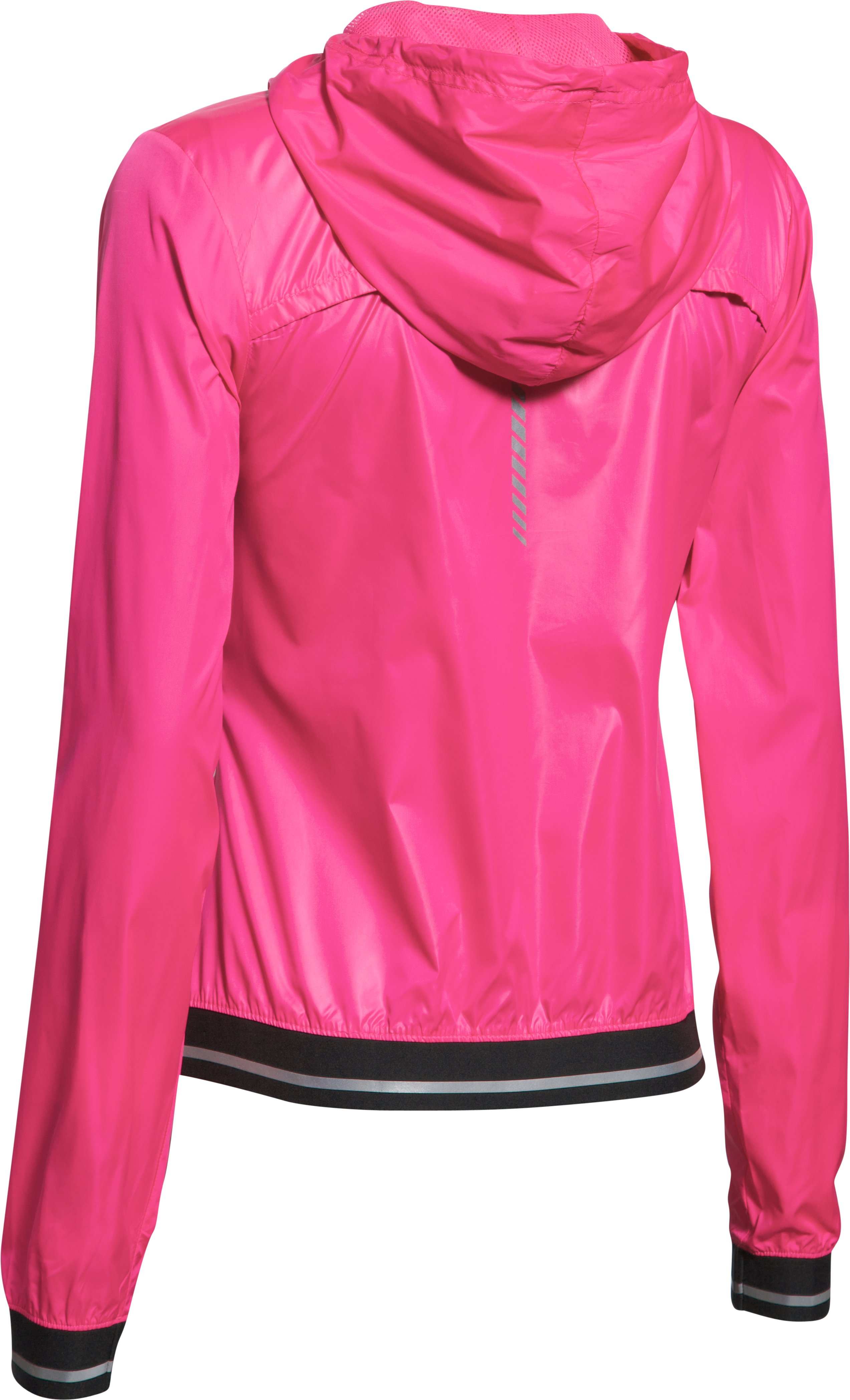 Women's UA Storm Layered Up Jacket, REBEL PINK,