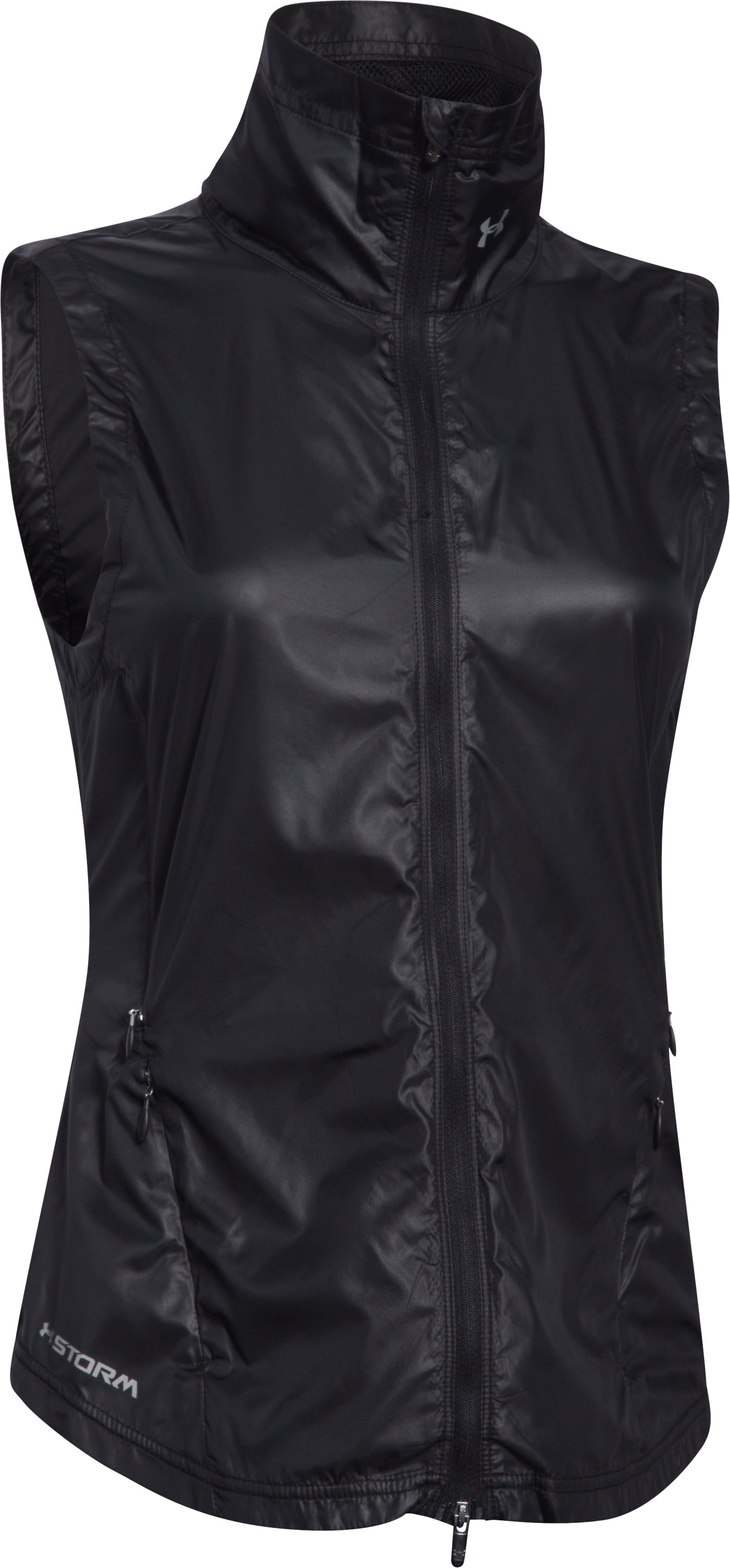 Women's UA Storm Layered Up Vest, Black