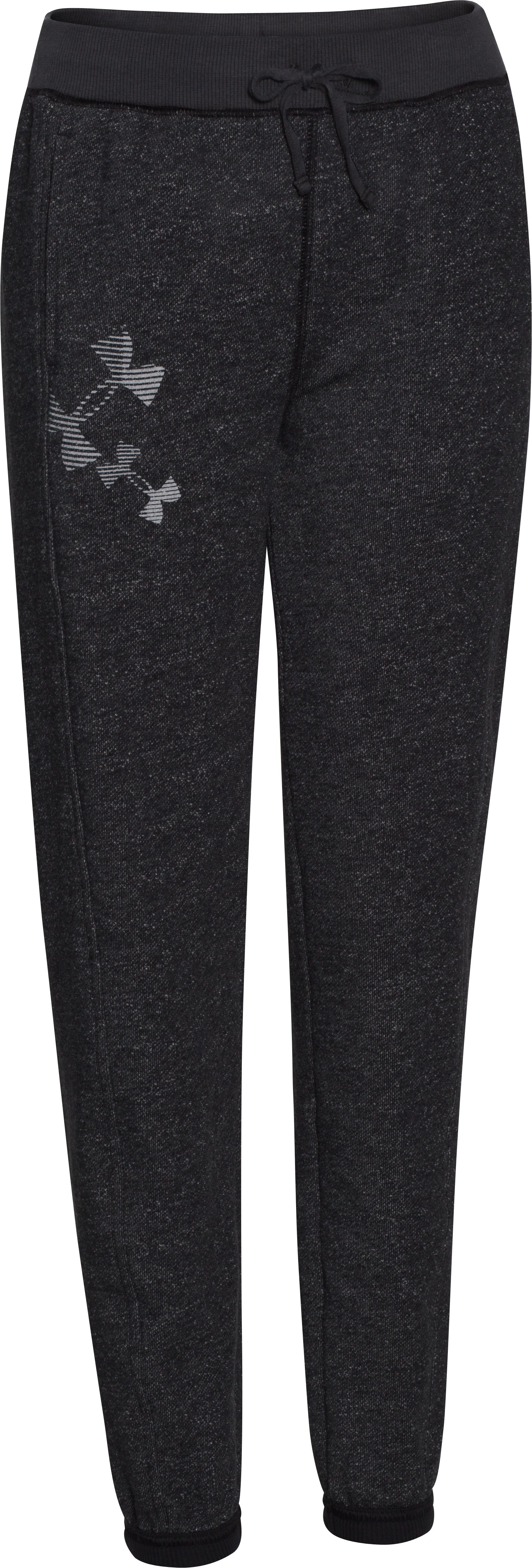 Girls' UA Kaleidalogo Pant, Black