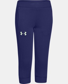 Girls' UA Rival Fleece Capri  1 Color $15.74