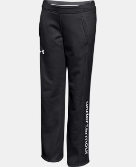New to Outlet Girls' UA Armour® Fleece Pants LIMITED TIME OFFER + FREE U.S. SHIPPING  $25.49 to $31.99