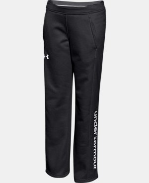New to Outlet Girls' UA Armour® Fleece Pants LIMITED TIME: FREE U.S. SHIPPING  $25.49 to $31.99