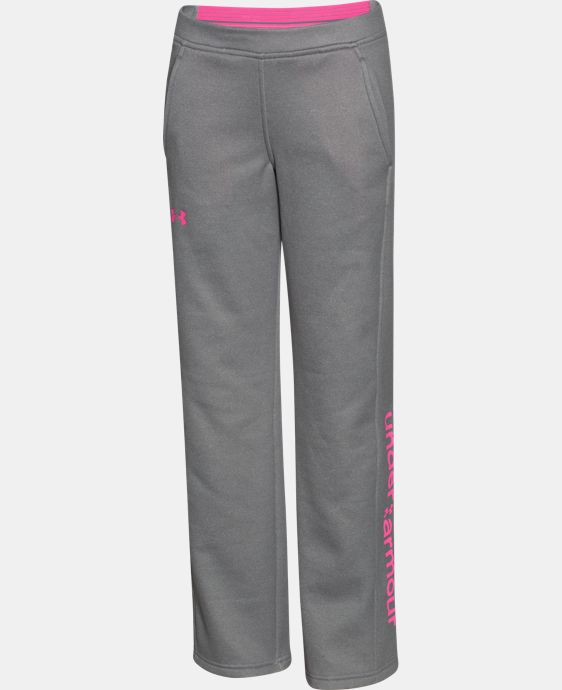 Girls' UA Armour® Fleece Pants  1 Color $28.49 to $37.99