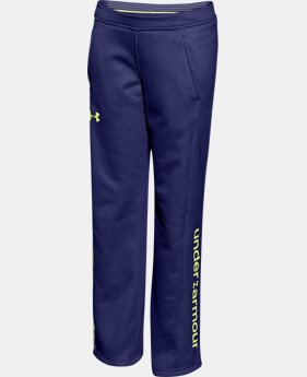 Girls' UA Armour® Fleece Pants  3 Colors $26.99 to $33.99